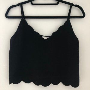 LUSH Scalloped Tank Top